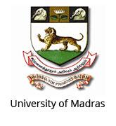 Image result for madras university logo
