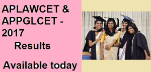 AP LAWCET Results 2017 & PGLCET Results 2017