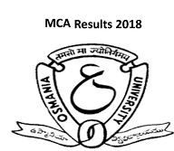 Osmania University MCA CBCS Jan-Feb 2018 RV Results