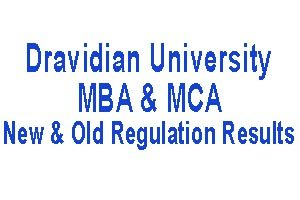 dravidian university results