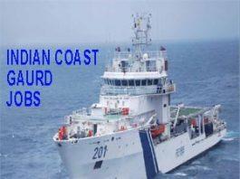 indian coast guards jobs