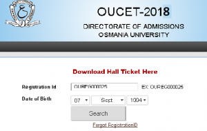 Osmania University Center For Distance Education MCA 1st To 3rd Year Aug 2018 Exam Hall Tickets