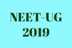 NEET UG 2019