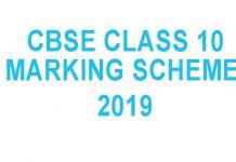 cbse class10 marking scheme