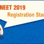 neet registration 2019 started