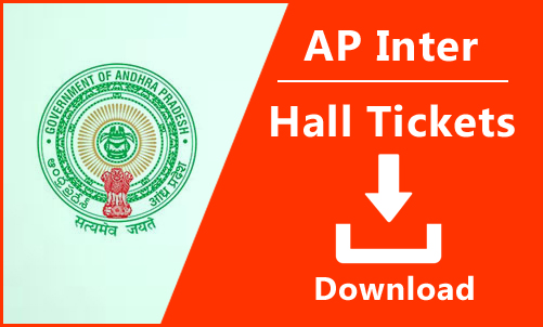 AP Inter 2nd Year Hall Tickets 2019,download inter 2nd year
